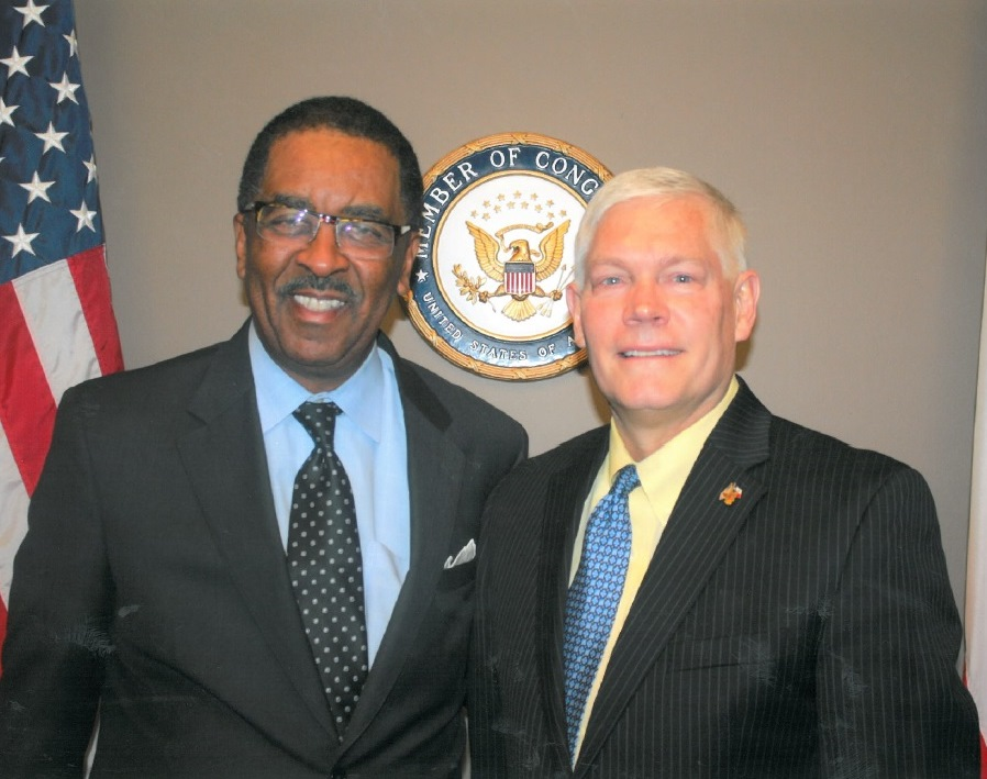 Charles English and Pete Sessions